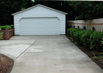 Pressure Washing Driveway - After